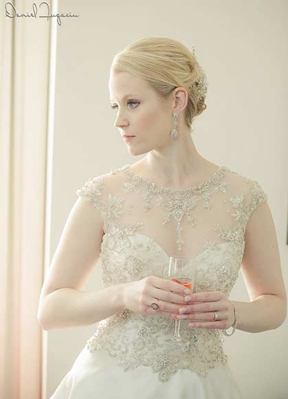 Classic Glamour Bridal Hair and Makeup